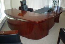 Executive Desks from jazzyexpo.com / Executive Wood and Glass Desks call sales at 760-727-1190 x 1