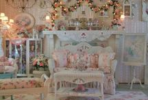 Home Sweet Home  / Stuff for the home... any home, yours or mine. Mostly a wish list for me. Hubby probably wouldn't allow most of the frilly pink items shown here. Just wishin'
