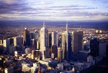 Melbourne | 100 Cities  / A visual collage of all things Aussi, that give this sunny city it's charm.  / by Knok