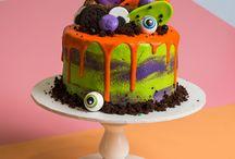 Halloween Treats / Spooky Cakes and Cupcakes