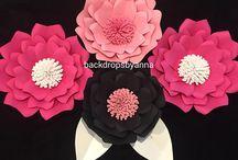 Paper flowers / Amazing