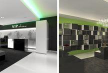 Shopdesign / Interieur designs van winkels