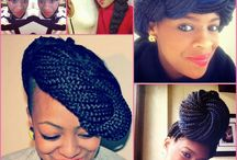 I ♥ Braids & Twists Too / Braids, twists in all shapes and sizes. LOVE.