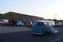 VW Bay Window / The second generation Volkswagen Type 2. Made from 1968 to 1979 model years.
