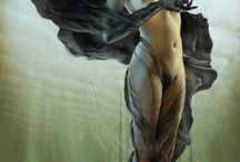Erotic Fantasy Art / Virus Vallejo, Luis Royo