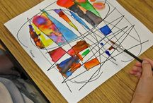 Abstract Art / Art lesson ideas