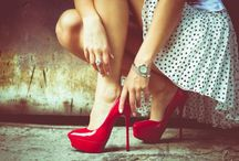 red high heel