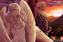 Angel • Light • Couple