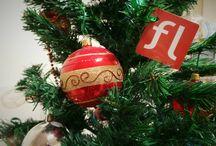 Natale 2014 da FlossLab! / Il Natale si avvicina e qui da FlossLab abbiamo preparato un albero davvero speciale :)