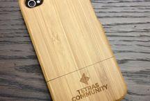 Wooden i-phone cases / Wooden i-phone cases