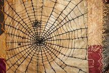 Quilt, the Spider block