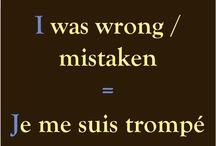 La leçon du Français :)