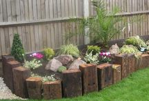 Raised Garden Beds and garden edgings