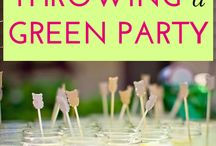 """Green Meetings & Events / Environmentally-friendly solutions for the Wedding day, events, and party solutions. Don't forget about using some of these solutions for your next """"Green"""" Meeting or Conference."""