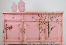 Decorate(d) furniture