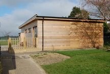 Hindringham Primary / When their deteriorating old mobile classrooms were no longer up to the job, Hindringham decided they wanted an environmentally friendly 'eco' building to replace them.