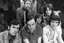 Monty Python / Monty Python (sometimes known as The Pythons) was a British surreal comedy group who created Monty Python's Flying Circus, a British television comedy sketch show that first aired on the BBC on 5 October 1969.