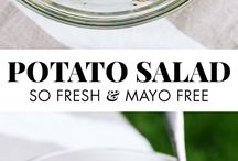 Potato salads / Simple and delicious recipes for potato salads.