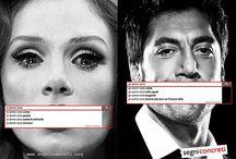 #ParoleNuove / Possiamo dire davvero ciò che vogliamo?  Il sessismo nella lingua italiana è lo specchio di quello fortemente radicato nella nostra società. Prendendo spunto dalla campagna di UN Women http://bit.ly/1e6aJh1, anche Segni Concreti ha fatto qualche ricerca... Partiamo da qui e proviamo a trovare #parolenuove, per essere liber* davvero di dire ciò che vogliamo, ma sempre nel rispetto degli altri e delle altre.