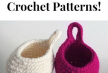 Crochet projects for the home