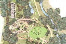 Landscape Draw / Apresentação de Paisagismo