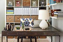 Studio Interiors. / Art studio design. / by Clare Hanny