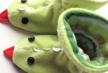 Crafts - Sewing - Baby Shoes