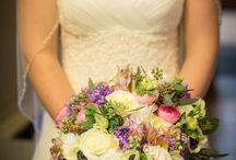 Purple Wedding in Winter