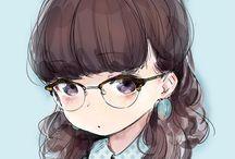 ruskea tukkanen tyttö