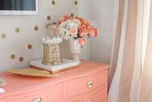 Little sister toddler room / by The Naptown Organizer