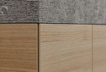 textures & materials & colours / contrasts, cold and warm, natural and synthetic, inspiring combinations..