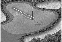 golf terms - near the green
