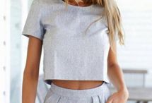 Her Life Of Summer Style / I like crops tops, I like high waisted shorts, I love maxi dresses and I am a huge fan of leggings/skinny jeans. I'm finding my style through some pinterest inspiration for Summer.