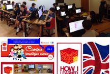 CAMPUS TECNOLÓGICO HOW I LEARNED CODE / Campamentos de verano tecnológico que hemos establecido en HOW I LEARNED CODE están enfocados IMG_4170a la iniciación de programación a través del video juego Scratch Y Minecraft complementándolo con unas clases de inglés totalmente dinámicas.