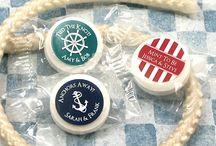 Theme: Nautical Weddings / Sailboat, anchor and nautical inspired wedding ideas. #nautical #weddings