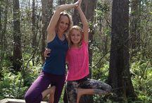 Kids yoga! / by Heyward Murray