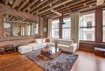 Stylish interior / In New York