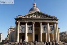 Paneton w Paryżu / Paryski Panteon to miejsce pochówku osobistości zasłużonych dla narodu: naukowców, polityków oraz pisarzy.