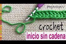 Trucos de gancho de crochet