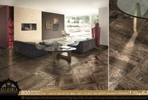 Dramatic Porcelain Floor Tile with Marble / Floor Tile with Marble Effect it really looks like natural stone, doesn't it?