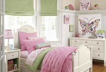 quarto verde com rosa