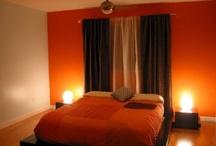Oranje Slaapkamers