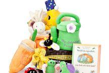 Baby Geschenke / Baby Geschenke Sets als Geschenkbox oder als Geschenkkorb.