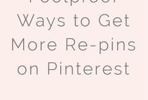 Pinterest for Bloggers / Tips, tricks and resources to grow our Pinterest followers.