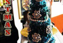 CHRISTMAS TREE / Alberelli natalizi  a crochet    -  Natale 2014 -