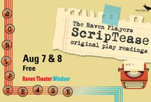 Raven Players Events / The Raven Players is the resident theater company of the Raven Performing Arts Theaters in Healdsburg and Windsor California. / by Raven Performing Arts Theater