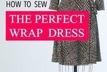 how to sew wrap dress