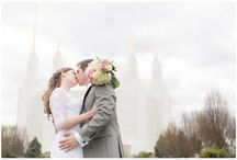 Washington D.C Temple Weddings / Photography by @elovephotos that have taken place at the Washington D.C Temple in Kensington, Maryland.