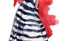 Desenhos de vestidos