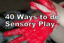 Sensory play and crafts